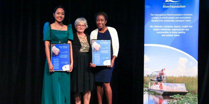 Carmina Rivera & Charity Mundava - 2018 Vera Thiess Fellowship Recipients
