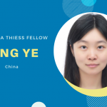 2019 Vera Thiess Fellow - Congratulations to Qing Ye!